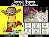 Speech Therapy Games: Initial R Games Bundle
