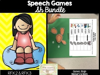 Speech Games: Sh Games Bundle