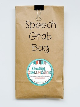 Speech Grab Bag