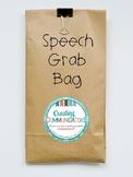 Speech Grab Bag