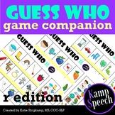 Speech Guess Who Companion R Edition