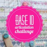Speech Hearts Base Ten: Articulation Challenge