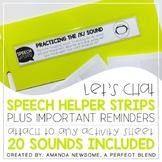 Speech Helper Strips