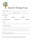 Speech Home Log