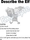 Speech Homework Packet: Winter/Holidays