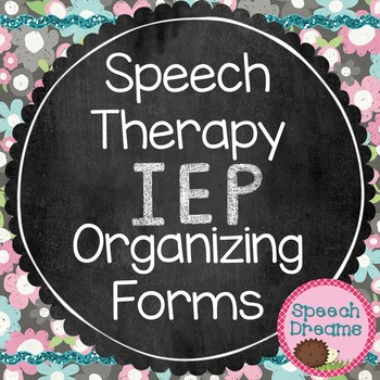 Speech IEP Organization Forms Reevaluation Review Meeting