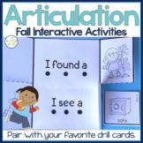 Speech Interactive Activities FALL