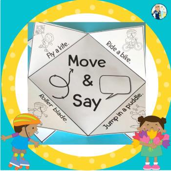 Speech Sound Interactive Notebook Activities SPRING
