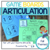 Speech Interactive Game Boards FALL