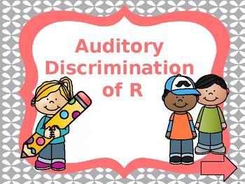 Speech Intervention RTI for R