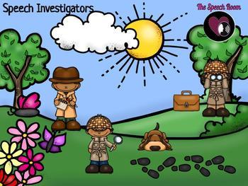 Speech Investigators - Articulation & Phonology