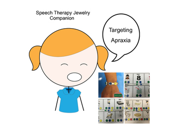 Speech Jewelry Companion Apraxia Cards