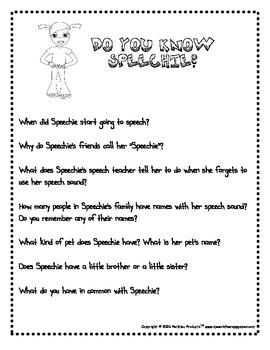 Speech Kids Set 1