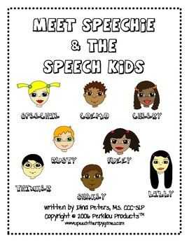 Speech Kids Set 1