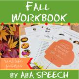 Speech Language Activities:  Fall Edition