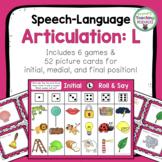 Speech-Language Articulation: L Sound