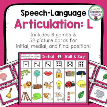 Speech-Language Articulation: L Sound