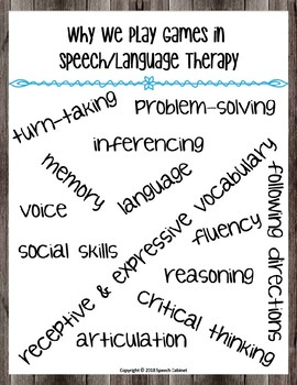 Speech & Language Beginning of the Year Must Haves!