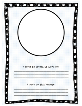 Speech-Language Binder Cover