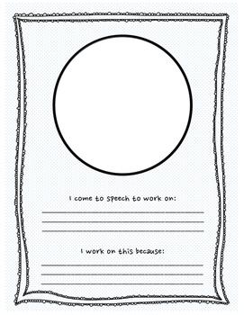 Speech-Language Binder Cover