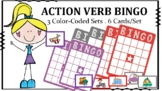 Speech-Language Bingo: Action Verbs, Subjective Pronouns,