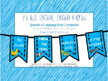Speech & Language Book Companion: In the Small, Small Pond