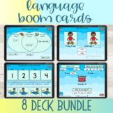 Language Boom Cards™ Bundle | Speech Therapy