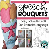 Speech & Language Bouquet Craftivity