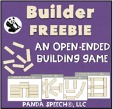 Builders FREEBIE: An Open Ended Activity