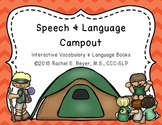 Speech & Language Campout: Interactive Vocabulary & Langua
