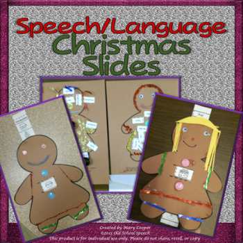 Speech/Language Christmas Slides