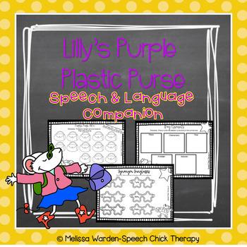 Artic & Language Companion for Lilly's Purple Plastic Purse