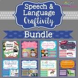 Speech & Language Craftivity BUNDLE
