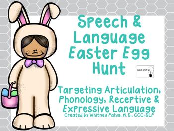 Speech & Language Easter Egg Hunt!