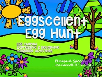 Speech Language Eggcellent Egg Hunt