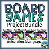 Speech & Language Game Board Project Bundle