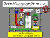 Speech/Language Generator R & Vocalic R