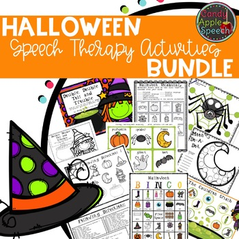 Speech & Language Halloween Fun Pack