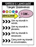 "Speech/Language ""I Can"" Statements"