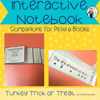 Turkey Trick or Treat Speech Therapy Book Companion