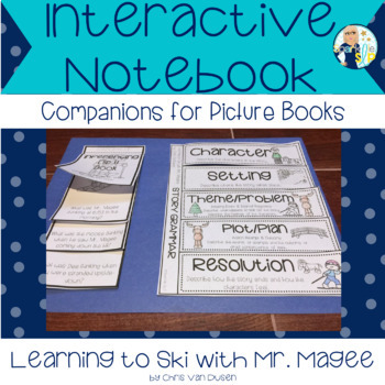 Learning to Ski with Mr. Magee:  Speech Language Interactive Notebook Companion