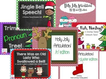 Speech & Language Mega Christmas Bundle!