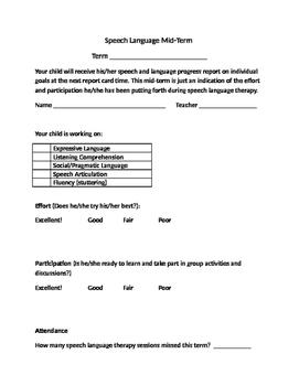 Speech Language Mid-term Report - BILINGUAL