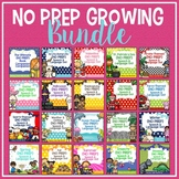 No Prep Speech & Language Growing Bundle