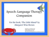 """Speech-Language Packet companion to the book, """"The Little Island"""""""