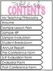 {Editable} Speech Language Pathologist Administrative Portfolio