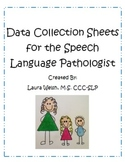 Speech Language Pathologist Data Collection Forms