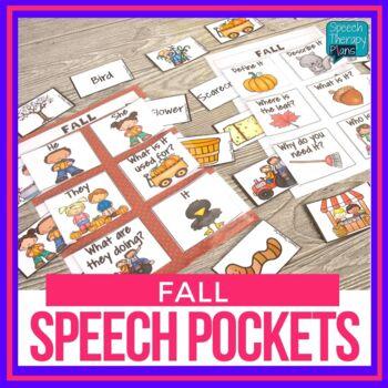 Fall Pockets: Speech and Language Activities