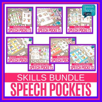 Speech & Language Pockets - Language Bundle