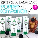 Speech & Language Popper Companion: BIG FOOT